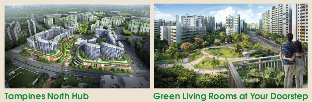 Tampines North Hub Green Living Singapore