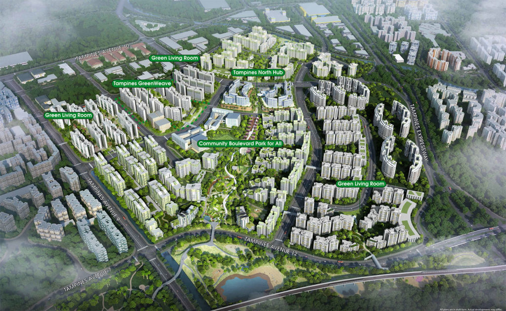 Tampines North Overview Singapore