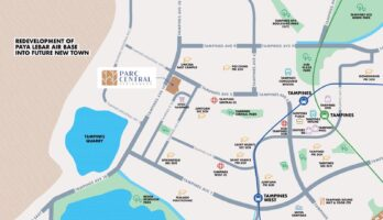 Parc Central Residences Location Map Singapore